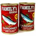send sardines can food in manila