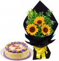 buy cake with flowers in manila