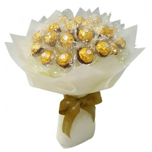 Ferrero White Bouquet Send to Manila Philippines